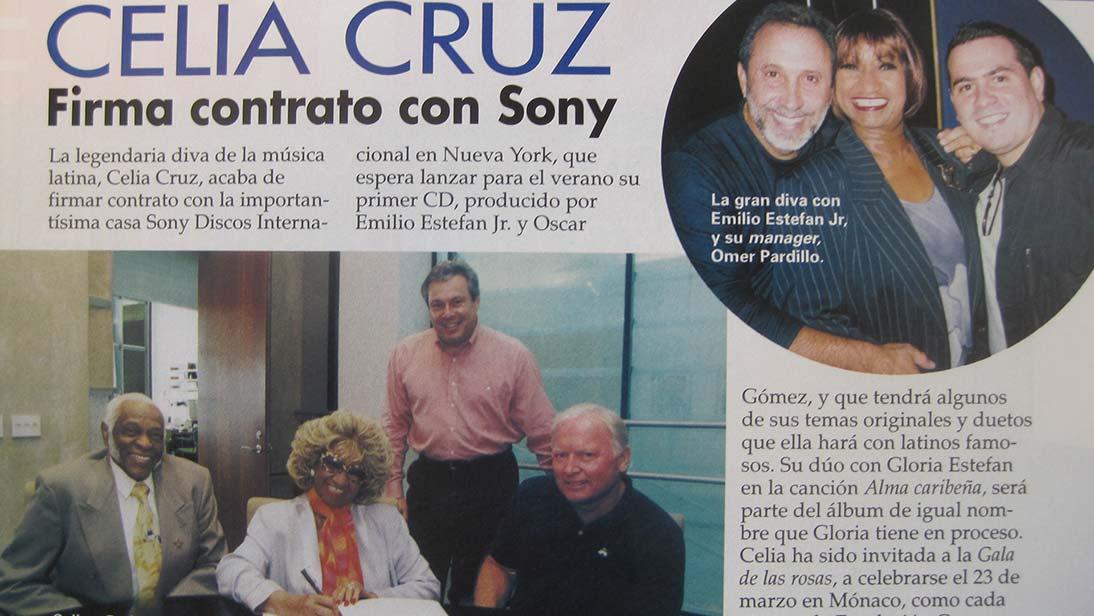 Celia Cruz - Sony
