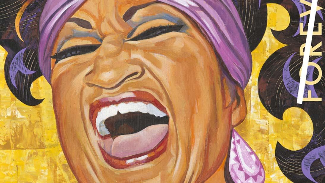 Celia Cruz Stamp
