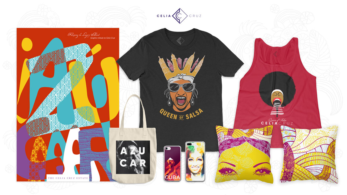 Celia Cruz Store Products