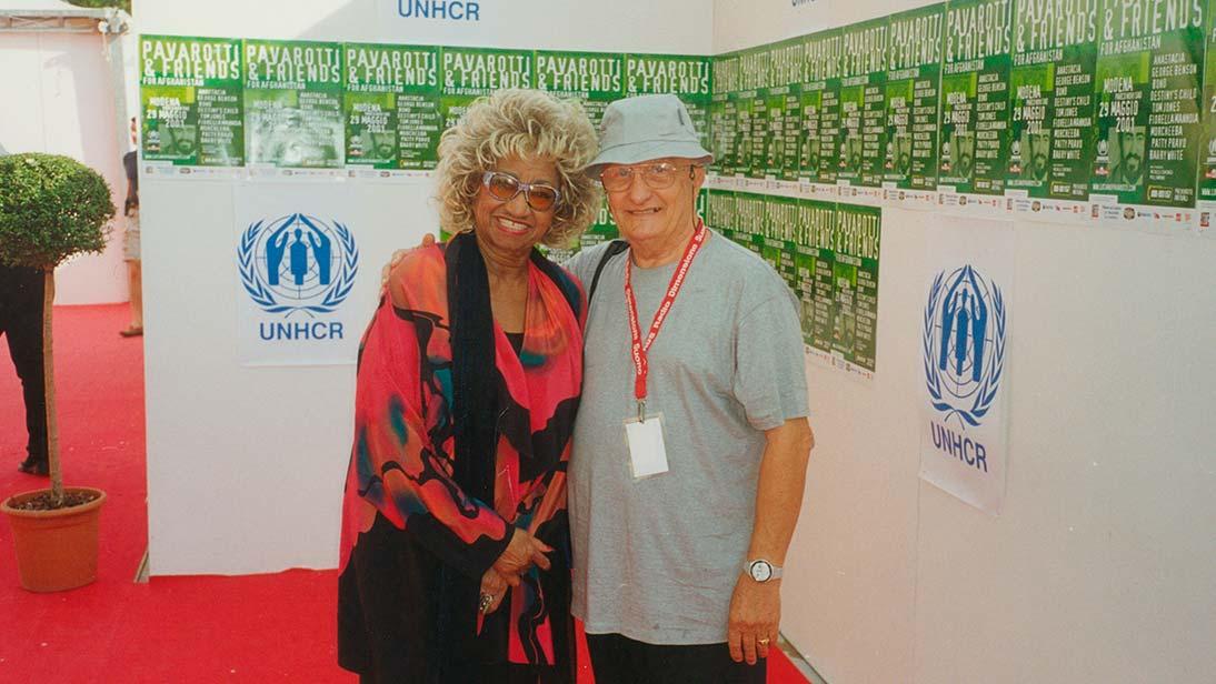 Celia Cruz & Vando Martinelli