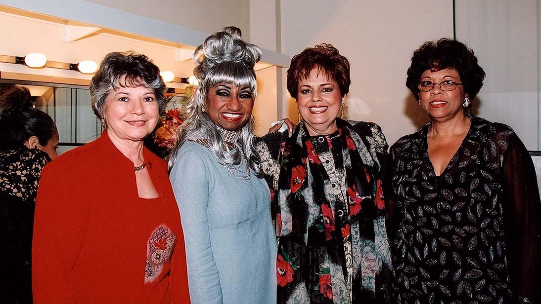 Elia Perez, Celia Cruz, Zoila Valdez $ Mary Campa