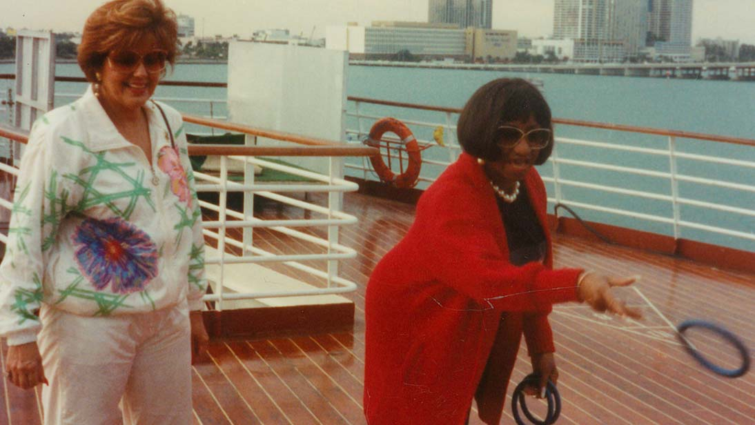 Zoila Valdez & Celia Cruz