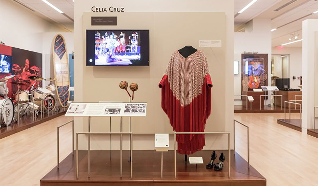 A view of the Celia Cruz exhibit at the Musical Instrument Museum, 4725 E. Mayo Blvd.