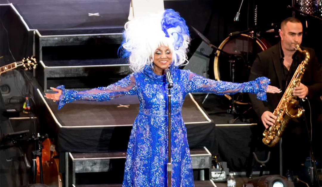 Lucrecia es Celia Cruz en Celia Su Vida Su Música Su Legado
