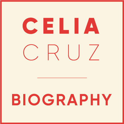 Celia Cruz Biography - Logo