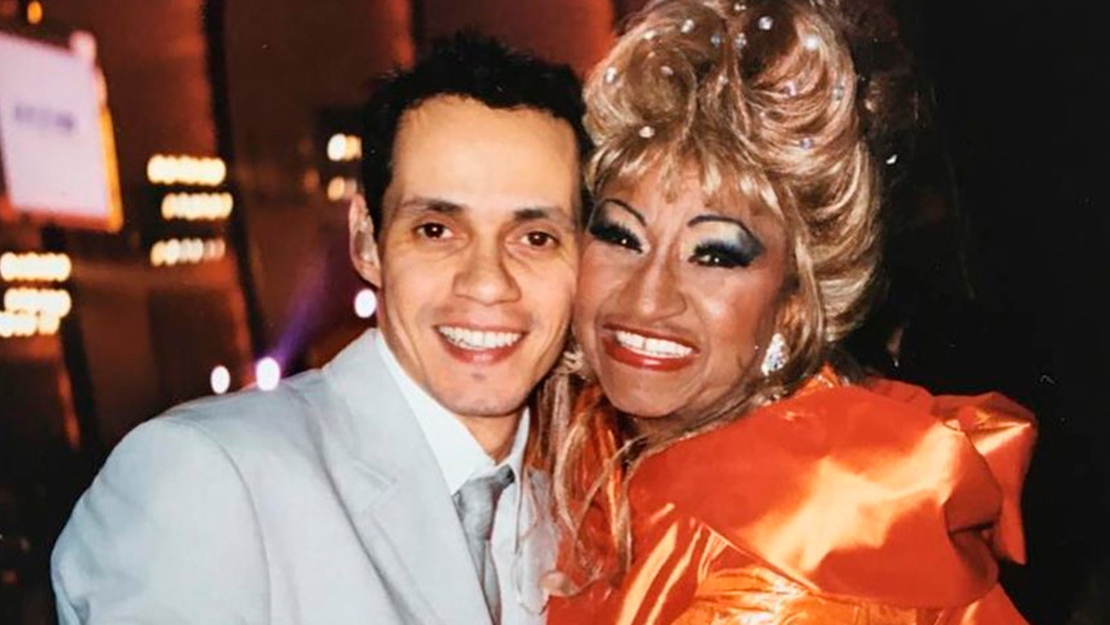 Celia Cruz & Marc Anthony